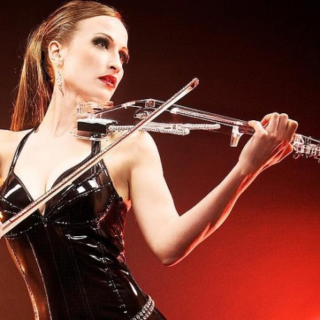 Angie - Violoniste Glam-Electro