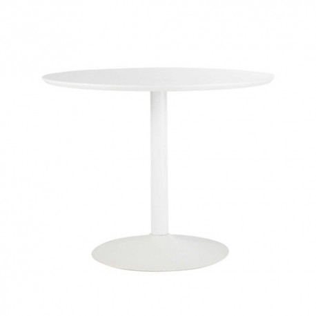 Table CIRCLE Blanche