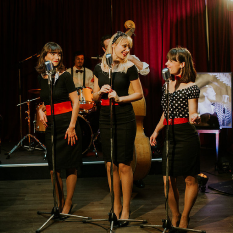 The Frangines - Chanteuses Swing